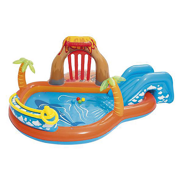 Надувной бассейн Bestway Вулкан, 265х265х104 см