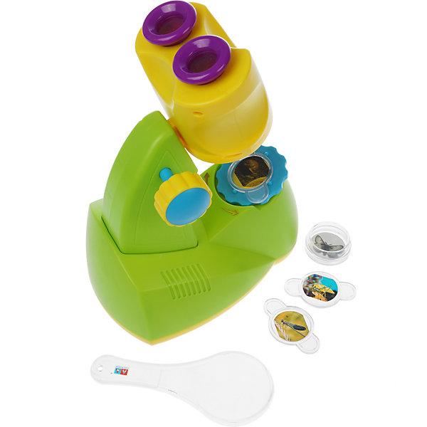 Shantou Gepai Игровой набор Shantou Gepai Микроскоп, свет игровой набор shantou t10759 43 см со звуком пьющая писающая