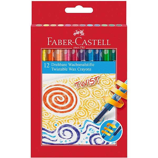 Faber-Castell Восковые карандаши Faber-Castell, 12 цветов восковые карандаши пифагор 12 цветов 222962