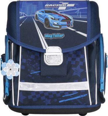 MagTaller Ранец школьный MagTaller EVO, Racing blue, без наполнения