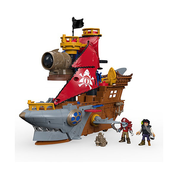 Игровой набор Imaginext Пиратский корабль