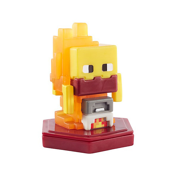 Mattel Мини-фигурка с NFC-чипом Minecraft Smelting Blaze