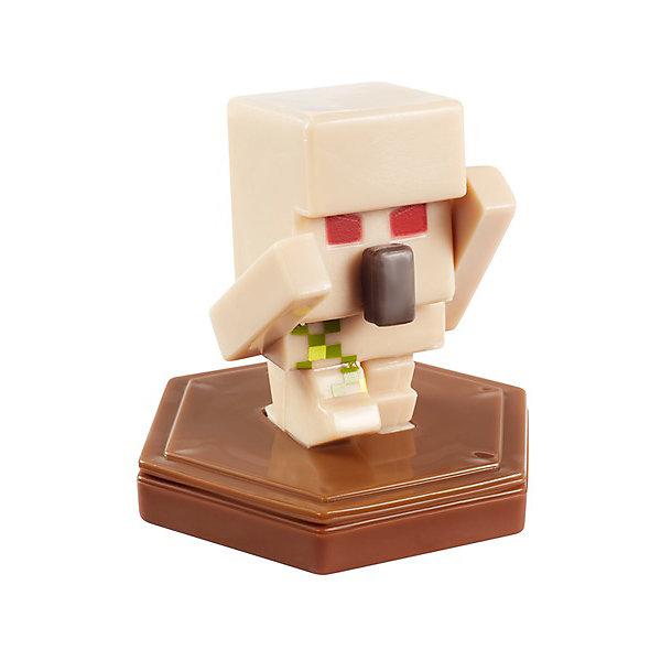 Mattel Мини-фигурка с NFC-чипом Minecraft Enraged Golem мини фигурка winx bloom
