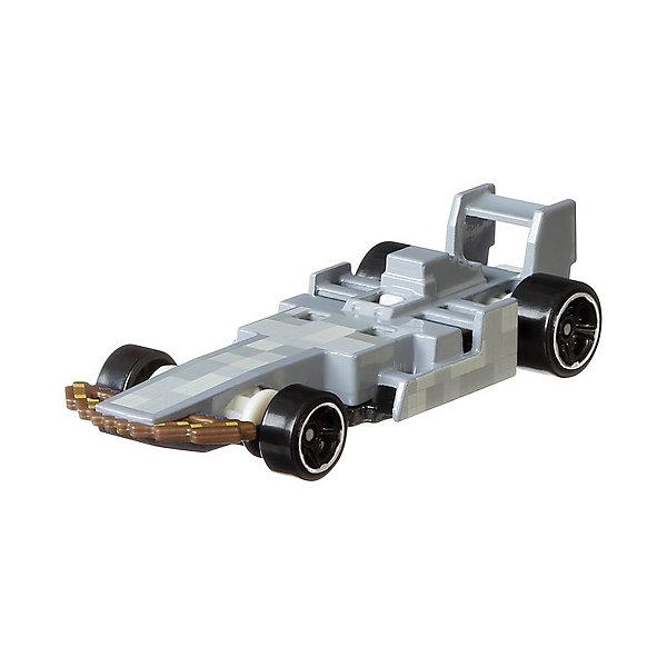 Купить Машинка Hot Wheels Caracter Гейминг Minecraft Skeleton, 1:64, Mattel, Китай, разноцветный, Мужской