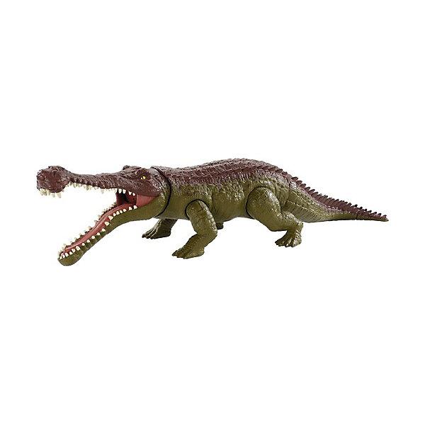 Фигурка динозавра Jurrasic World Total Control Саркозух Mattel 14642124