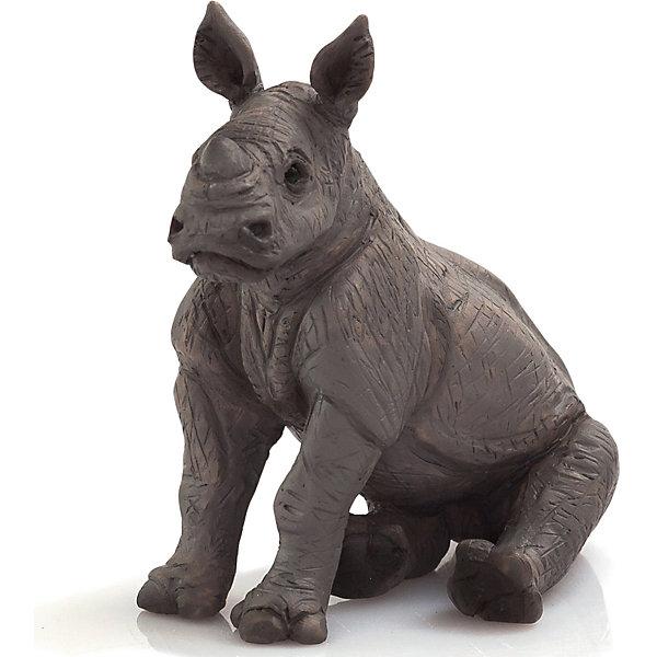 Mojo Фигурка Animal Planet Носорог детеныш mojo фигурка гиппопотам детеныш