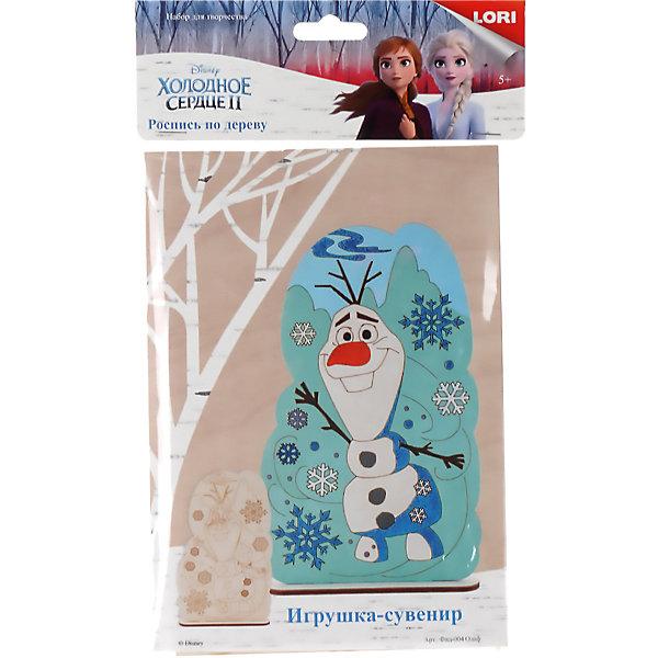 Купить Роспись по дереву Lori, игрушка-сувенир Disney. Холодное сердце-2 Олаф , Россия, Унисекс