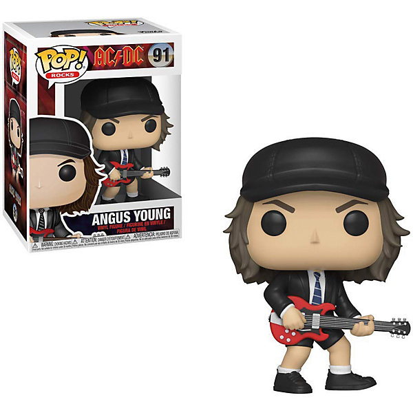 Funko Фигурка Funko POP! Vinyl: Rocks: AC/DC: Ангус Янг, 36318 цена и фото