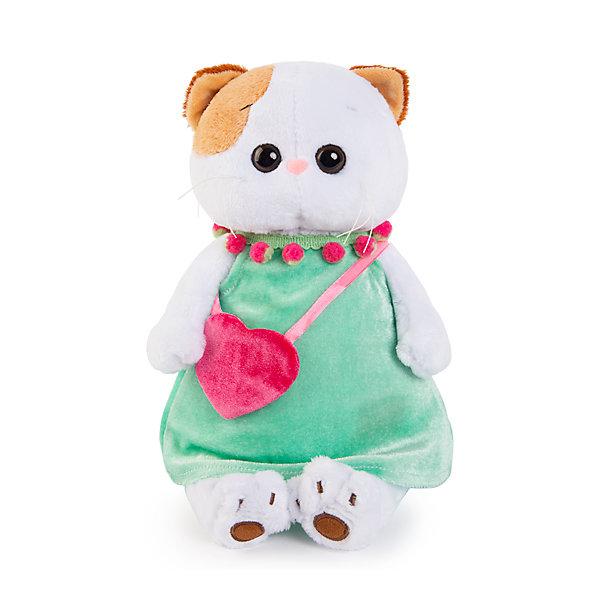 Budi Basa Одежда для мягкой игрушки Budi Basa Мятное платье с розовой сумочкой, 24 см