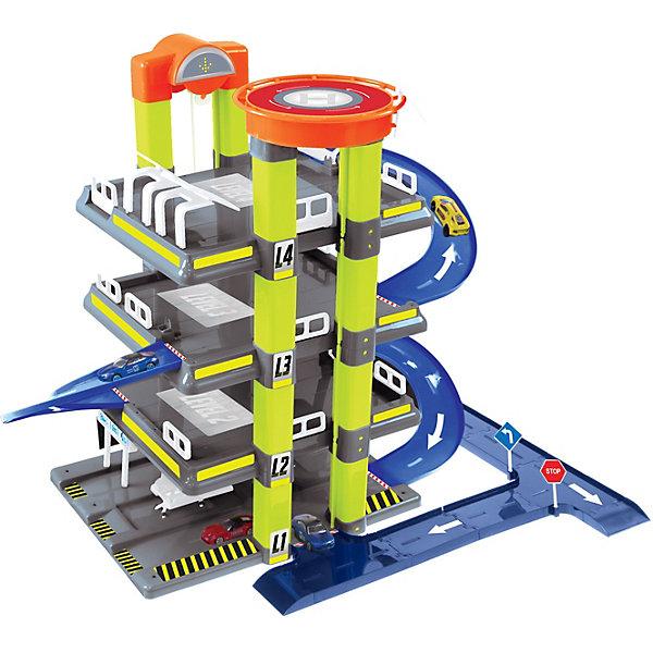 Mochtoys Игровой набор Mochtoys Гараж с машинкой, 4 уровня игровой набор mochtoys доска 110см