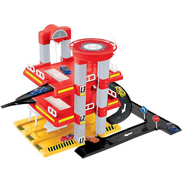 Mochtoys Игровой набор Mochtoys Гараж с машинкой, 3 уровня игровой набор mochtoys доска 110см