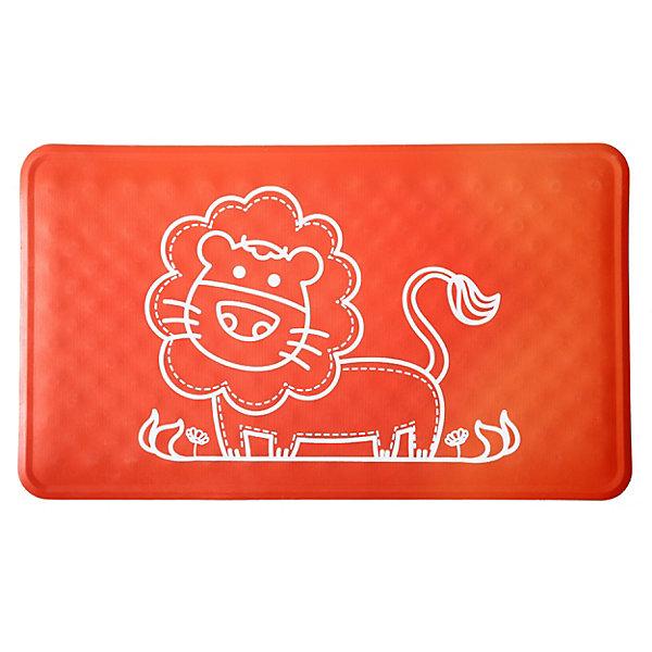 Антискользящий коврик для ванны Roxy Kids красный