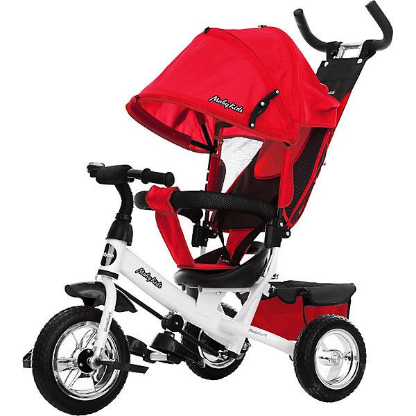 Купить Трёхколёсный велосипед Moby Kids Comfort, 10x8, Китай, красный, Унисекс