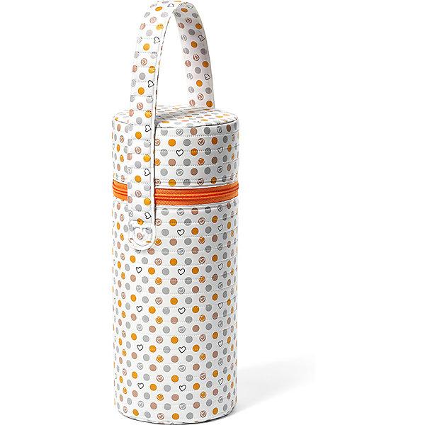BabyOno Термосумка для бутылочек BabyOno, оранжевая