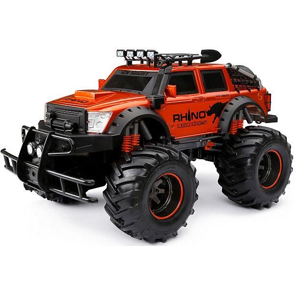цена на New Bright Радиоуправляемая машинка New Bright Rhino, 1:12