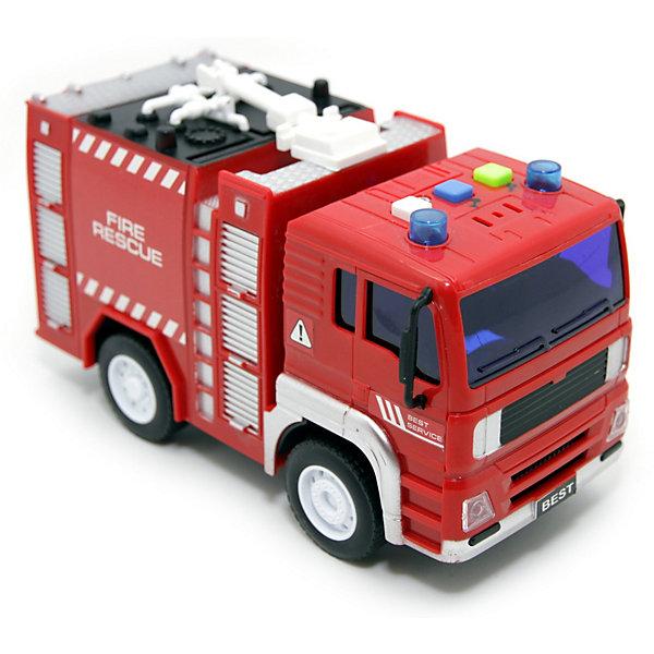машинки и мотоциклы balbi машина на радиоуправлении balbi rcs 2402 wl 1 24 белая Balbi Машина Balbi Пожарная машина, инерционная