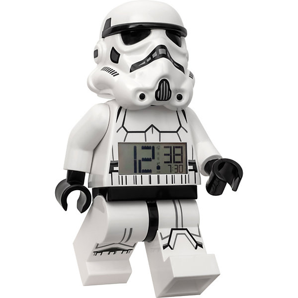 Фото - LEGO Будильник LEGO Star Wars Минифигура Штормтрупер, свет/звук автомат на аккум свет звук с гелевыми и мягкими пулями m635 в кор 61 5 41 6 5см в кор 2 6шт