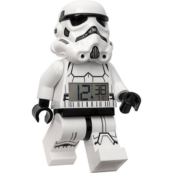 LEGO Будильник LEGO Star Wars Минифигура Штормтрупер, свет/звук