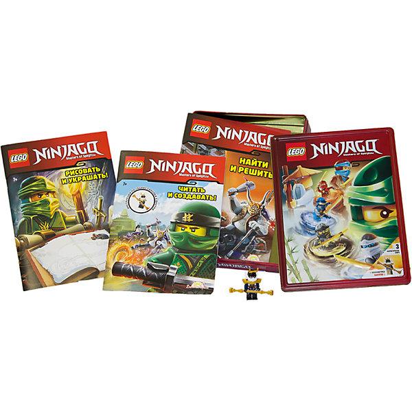 цена на LEGO Набор книг LEGO Ninjago, с игрушкой
