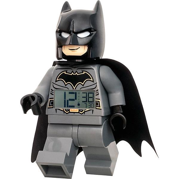 LEGO Будильник LEGO DC Comics Super Heroes Минифигура Бэтмен, свет/звук