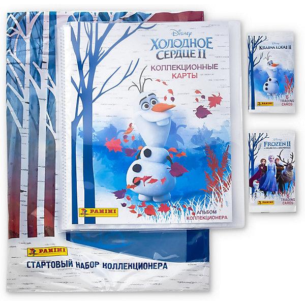 Папка с карточками Panini Холодное сердце 2, 2 пакетика 14862157