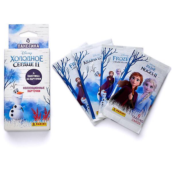 Фото - Panini Блистер с карточками Panini Холодное сердце 2, 4 пакетика детские наклейки panini подарочная упаковка euro 2020 и 2 пакетика карточек