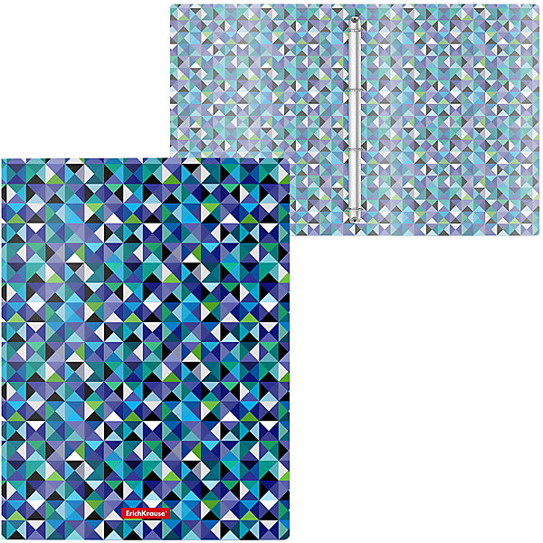 Erich Krause Папка на кольцах Erich Krause папка файл на 4 кольцах темно синяя pvc 35 мм диаметр 20мм 08 1693 2 тс