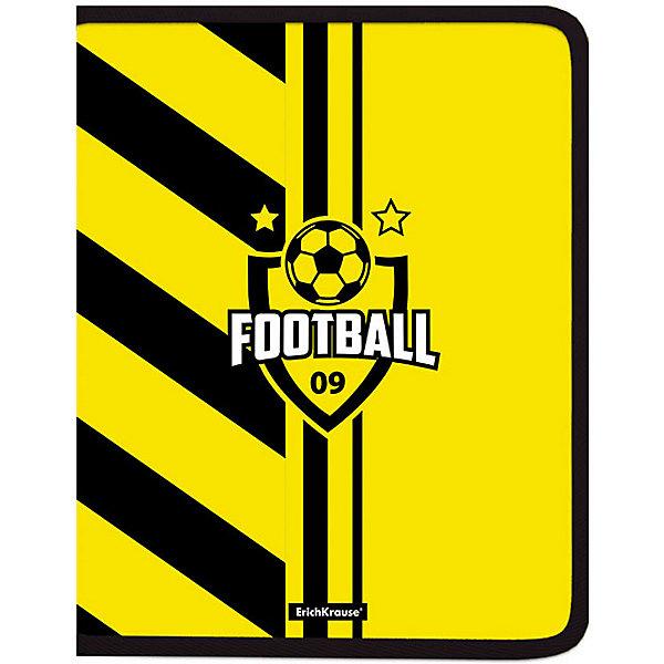 Erich Krause Папка для тетрадей на молнии Erich Krause Football Time erich krause ежедневник 148x210 lizard erich krause