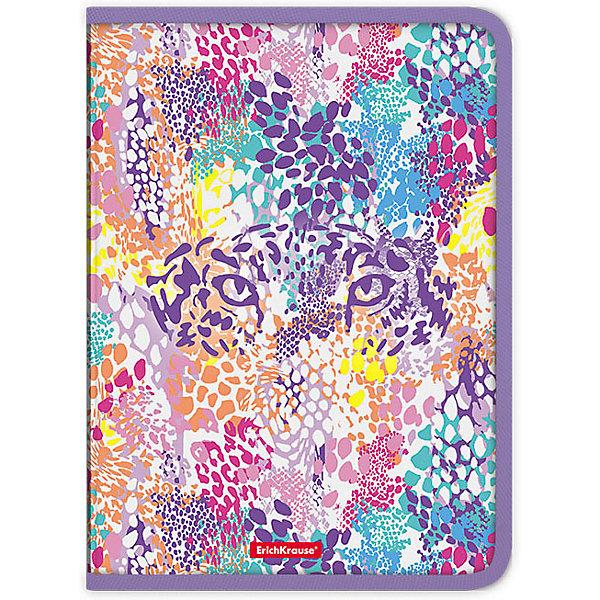 Erich Krause Папка для тетрадей на молнии Erich Krause Cheetah разделитель цветовой erich krause 10 цветов формат а4