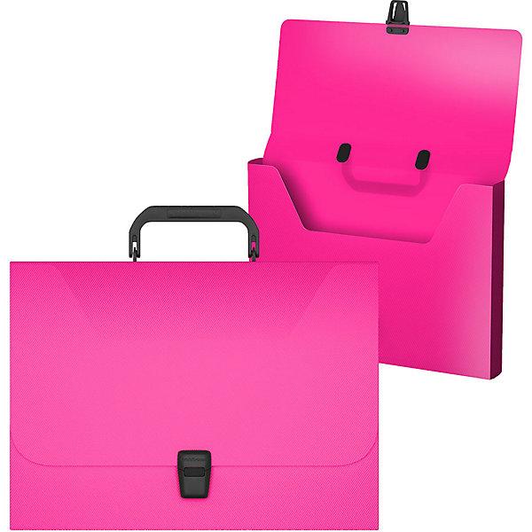 Купить Портфель Erich Krause Diagonal Neon, Россия, розовый, Женский