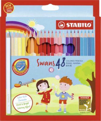 STABILO Набор цветных карандашей Stabilo Swans, 48 цветов