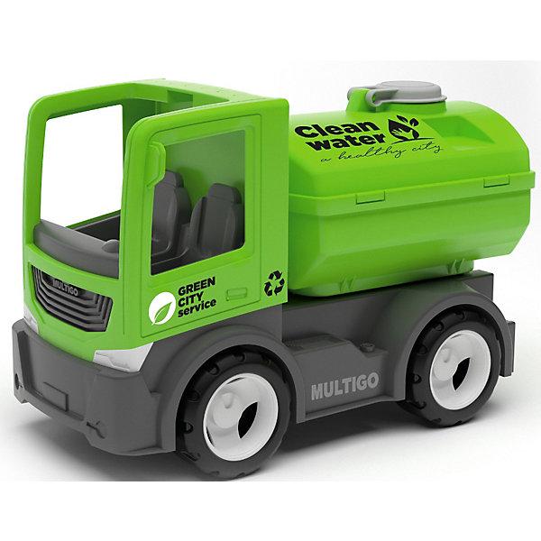 Efko Машинка Efko Городской грузовик с цистерной, 22 см автомобиль с цистерной полесье мой первый грузовик в сеточке 5441
