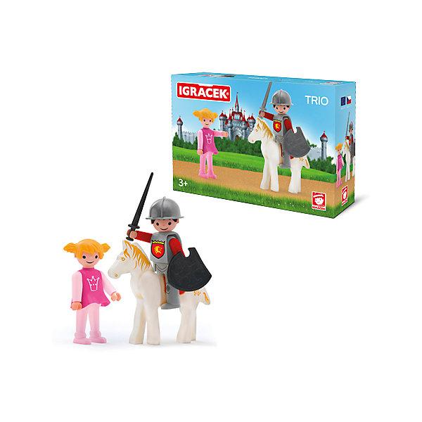 Купить Игровой набор Efko Рыцарь и принцесса, разноцветный, Унисекс