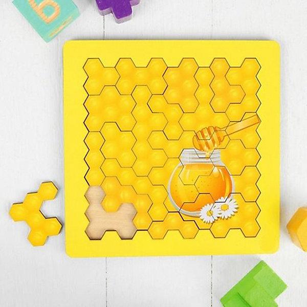 Пазл-головоломка Paremo Собери соты, 24 элемента