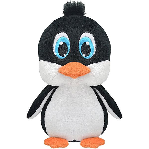 Купить Мягкая игрушка Wild Planet Пингвин Флаппи, 22 см, черный/белый, Унисекс