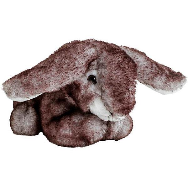 Molly Мягкая игрушка Molli Заяц лежачий, 18 см игрушка мягкая заяц в розовой шубе 30 см