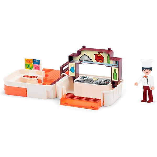 цена на Efko Игровой набор Efko Кухня с фигуркой повара