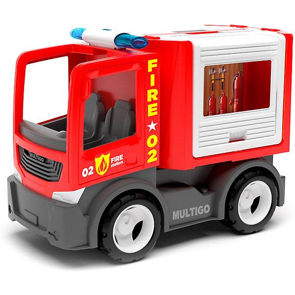 Efko Машинка Efko Пожарный автомобиль для команды, 22 см автомобиль volvo пожарный 8787