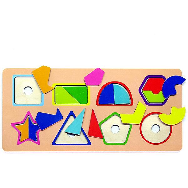 PAREMO Рамка-вкладыш Paremo Фигуры и цвета, 16 элементов