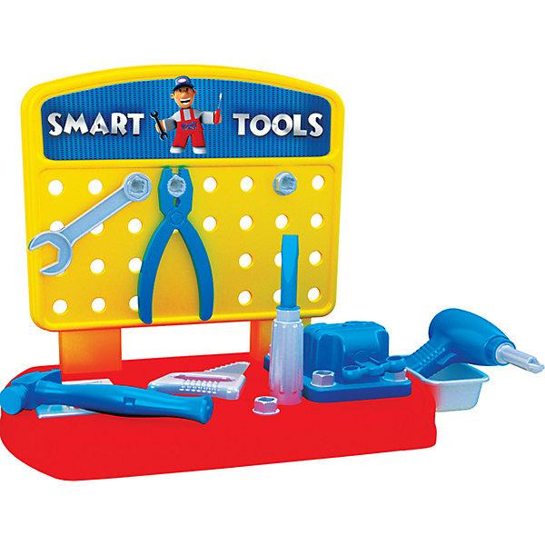 Terides Игровой набор Terides Инструменты с настольным верстаком, 30 предметов игровой набор boley инструменты 7 предметов