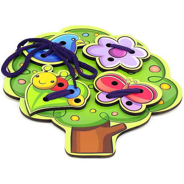 Купить Шнуровка Paremo Дерево, разноцветный, Унисекс