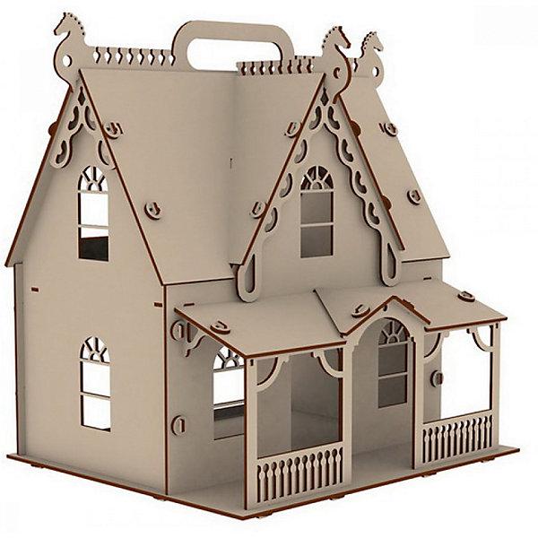 PAREMO Домик для кукол Paremo Я Дизайнер Загадочная усадьба, 62 элемента