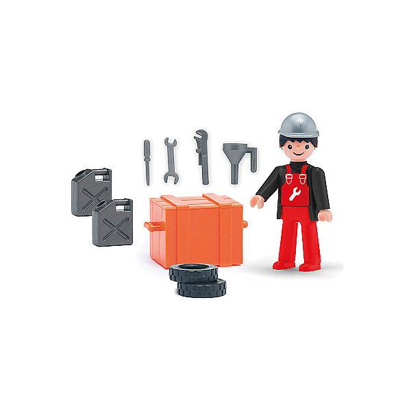 Efko Игровая фигурка Efko Автомеханик, 8 см, с аксессуарами efko игровая фигурка efko пожарный 8 см с аксессуарами