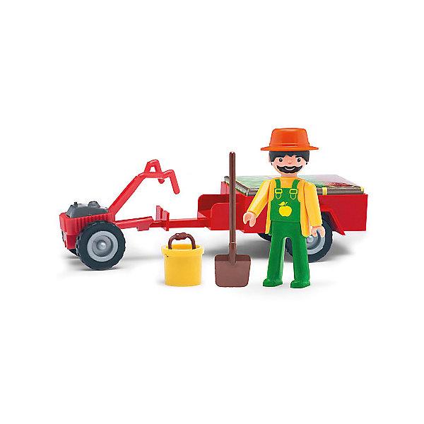 Efko Игровая фигурка Efko Фермер, 8 см, с аксессуарами efko игровая фигурка efko пожарный 8 см с аксессуарами