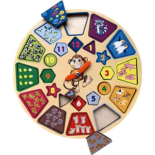 PAREMO Обучающая игра Paremo Часики Животные paremo обучающая игра paremo ассоциации 30 элементов