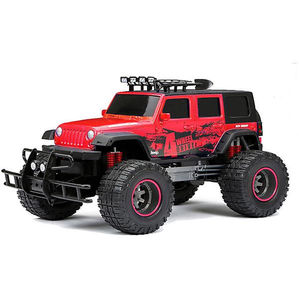 Радиоуправляемая машинка New Brightt Door Jeep 1:12 красный Bright 14900427