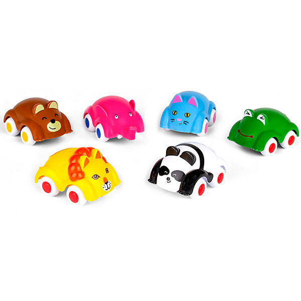 Viking Toys Игровой набор Viking Toys Машинки-животные, 6 шт цена 2017