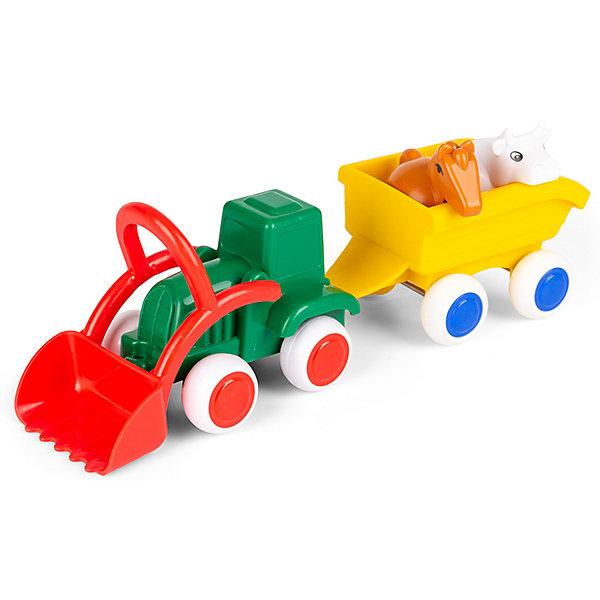 Viking Toys Игровой набор Viking Toys Сафари. Трактор с животными в прицепе цена 2017