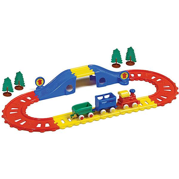 Игровой набор Viking Toys City Железная дорога, 21 элемент