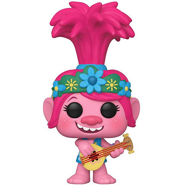 Funko Фигурка Funko POP! Vinyl: Тролли. Мировой тур: Поппи с гитарой, 47349 trolls фигурка тролль poppy